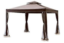 weist gazebo with canopy and netting 10