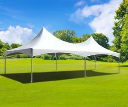 Commercial 20' x 30' High Peak Tent Wedding Event Vinyl Cano